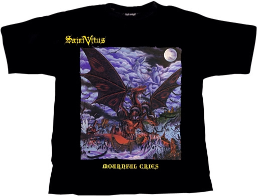 Saint Vitus - mounrful Cries Shirt XXL