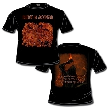 Mirror of Deception- A Smouldering Fire Shirt Size XL