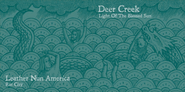 LEATHER NUN AMERICA / DEER CREEK SPLIT 7