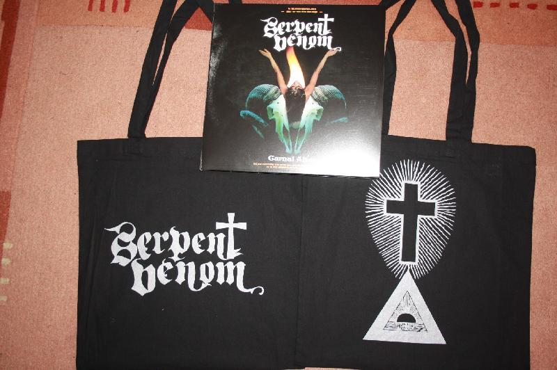 Serpent Venom - Carnal Altar 2-LP ( llim. red + bag edition)