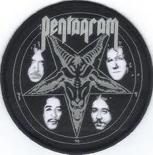Pentagram - Patch