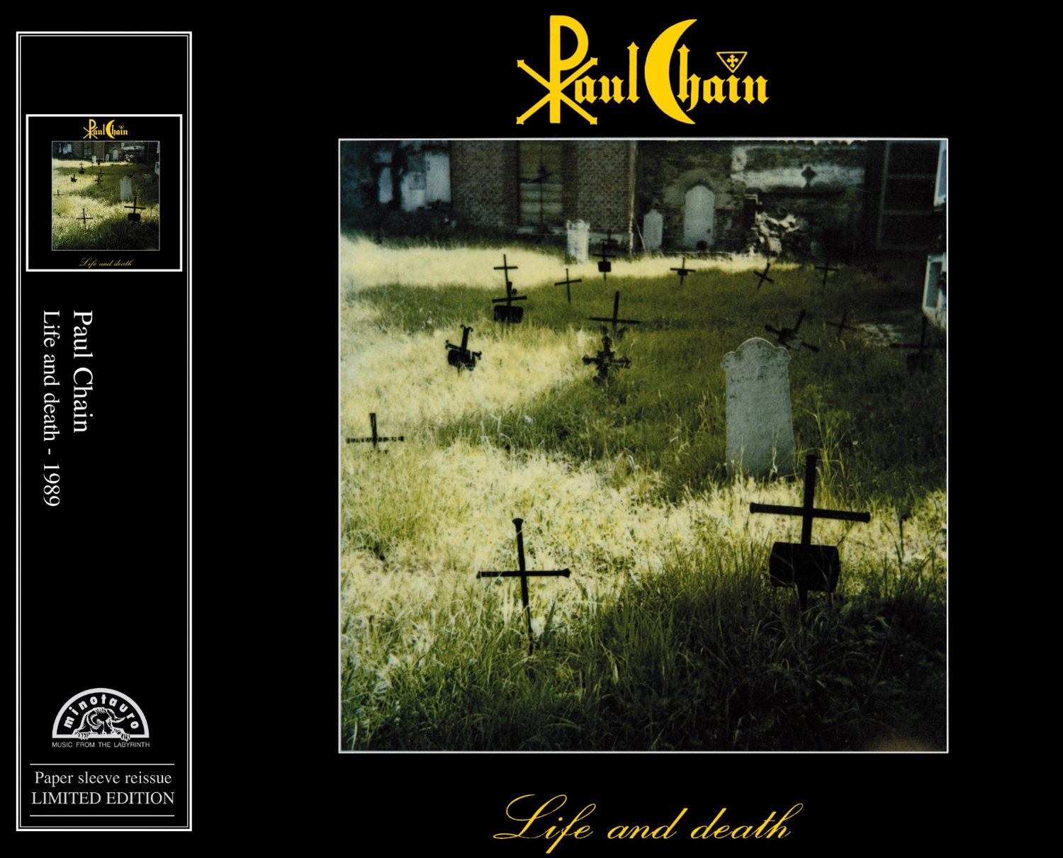 Paul Chain - Life and Death ( Jewel Case)