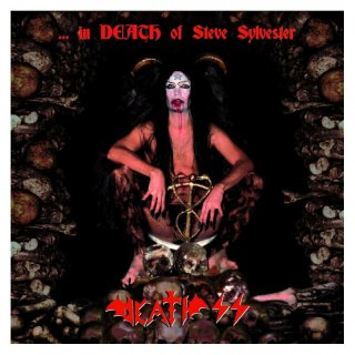 DEATH SS - In Death of Steve Sylvester LP ( red)