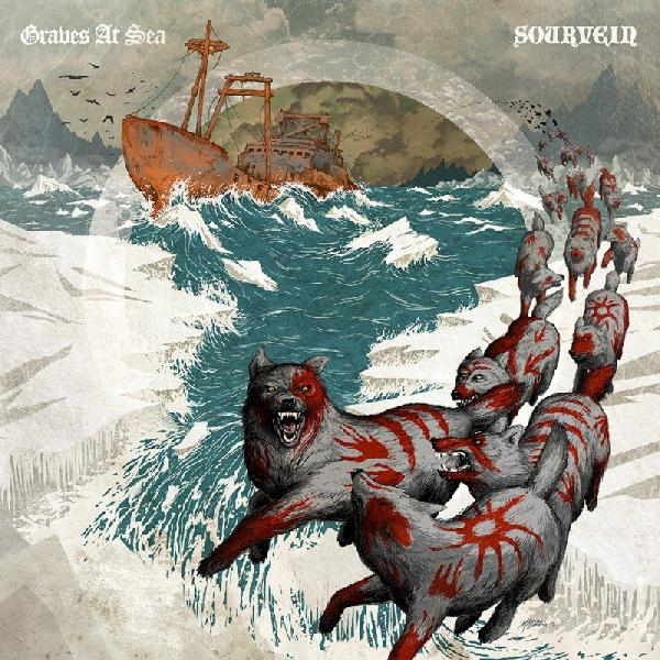 Graves at sea / Sourvein Split CD