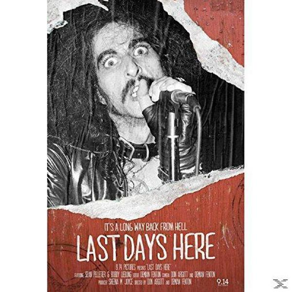 Last Days here . Pentagram DVD