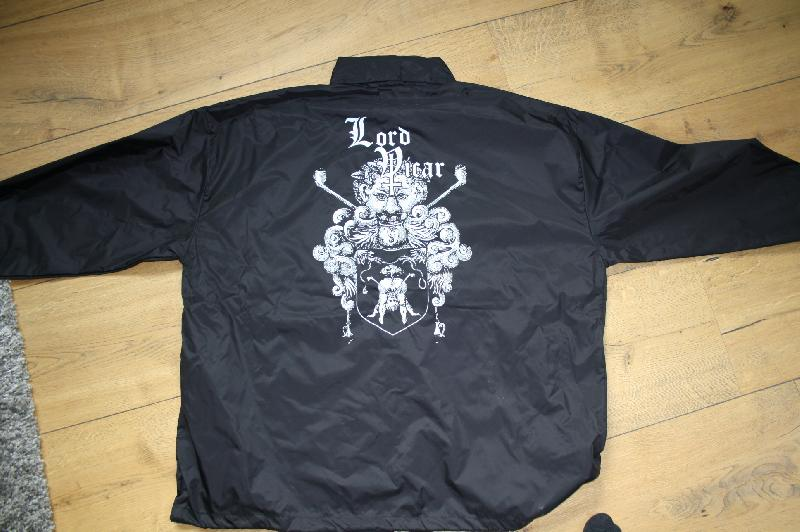 Lord Vicar - Gates of Flesh Windbreaker Size L