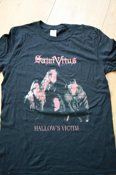 Saint Vitus - Hallow`s Victim Shirt Size S