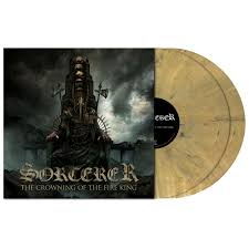 Sorcerer - The Crowning of the Fire king 2-LP ( gold)