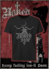 Naked Star - Baphomet Shirt Size  2-XL