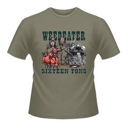 Weedeater - Sixteen Tons Shirt (green) Size M