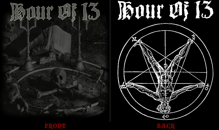 Hour of 13 - Shirt Size XL