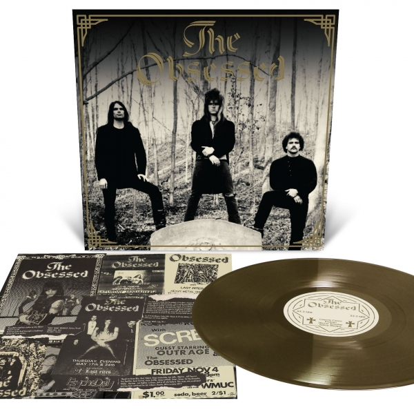 The Obsessed - Demo Reissue LP ( Gold)