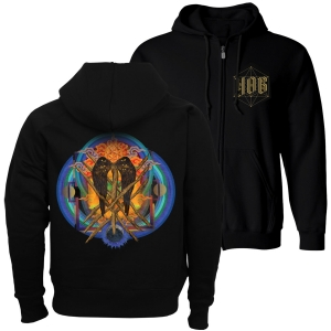 Yob - Our Raw Heart Hoddie Size L