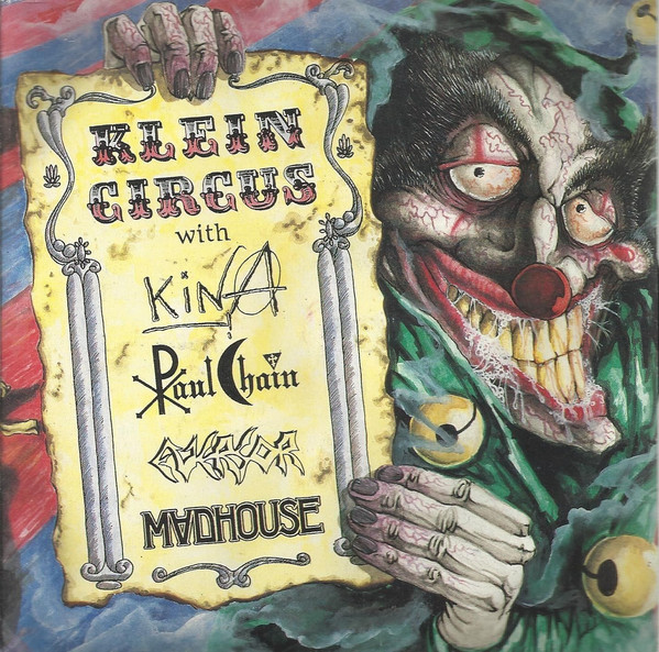 Kina / Paul Chain / Eversor / Madhouse ‎– Klein Circus (7″, Ltd)