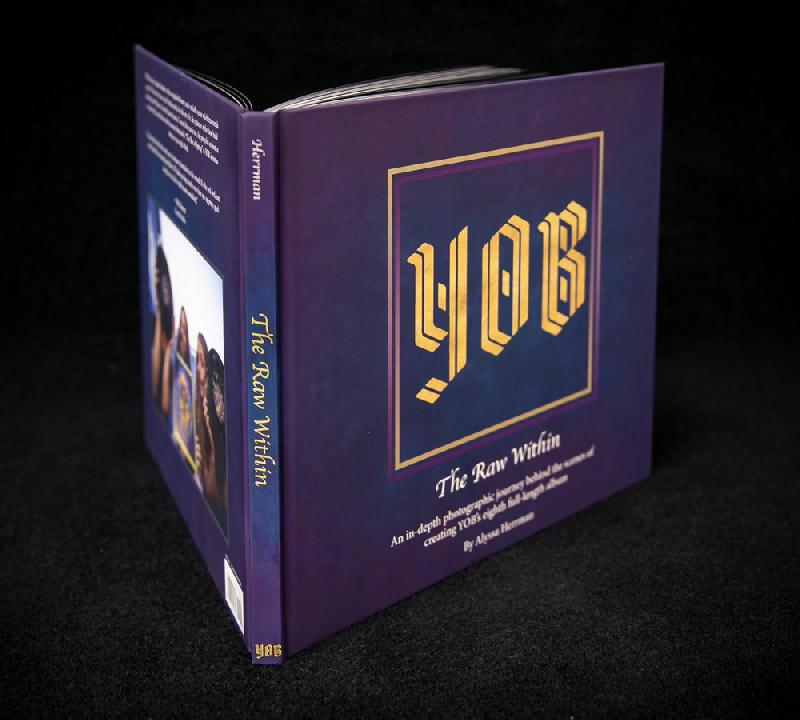 Yob - The Raw Within Hardcoverbook