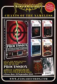 Procession - Chants of the Nameless 4 Tape Box