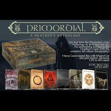 Primordial - a Heathen`s Anthology  8 Tape Box