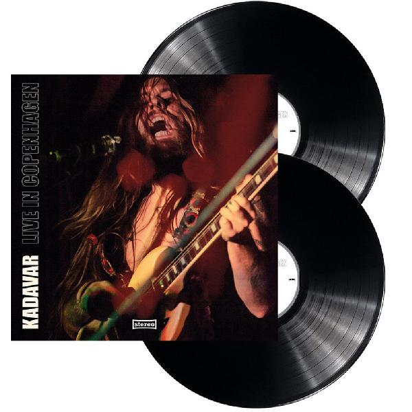 Kadavar - live in Copenhagen 2-LP ( black