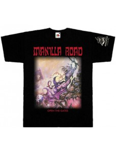 Manilla Road - Open the Gate Shirt Size L