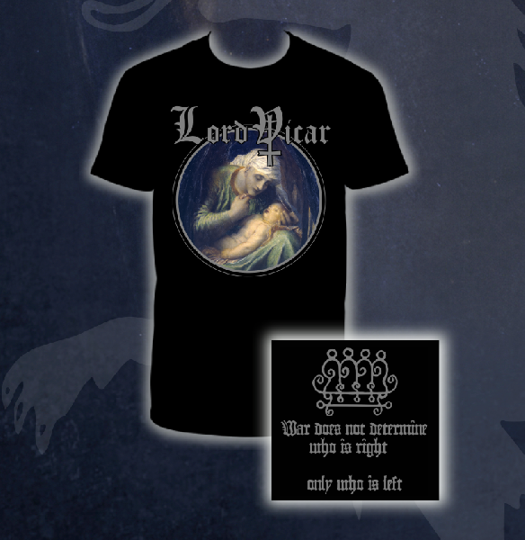 Lord Vicar - The Black Powder Shirt Size M