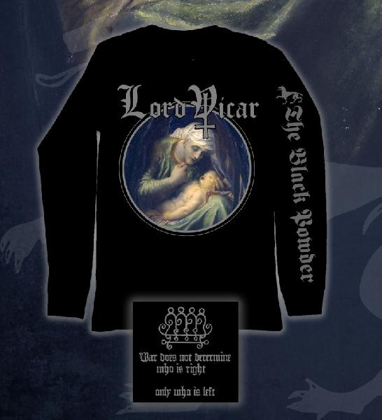 Lord Vicar - The Black Powder Longsleeve Size L