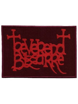 Reverend Bizarre - Patch ( red)
