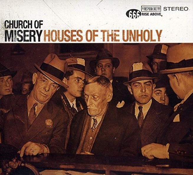 Church of Misery - House of the Unholy 2-LP ( Colour)