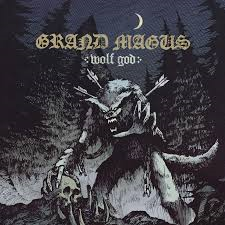 Grand Magus - Wolf God LP ( black)
