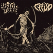 BLACK TOMB/CRUD - DOOM IS DEAD Split LP