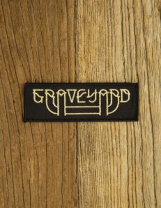 Graveyard - Logo Patch ( gold)