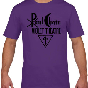 Paul Chain - Violet Theatre Shirt ( Purple) Size L