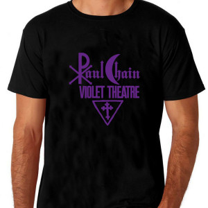 Paul Chain - Violet Theatre Shirt ( black) Size L