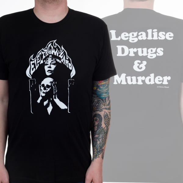 Electric Wizard - Legalise Shirt  US Tour Shirt Size XL Import