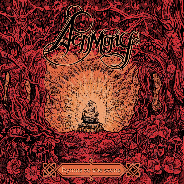 Acrimony - Hymns to the Stone LP ( Orange) LP