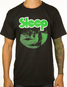 Sleep - Dopesmoker Shirt ( Black) Size L