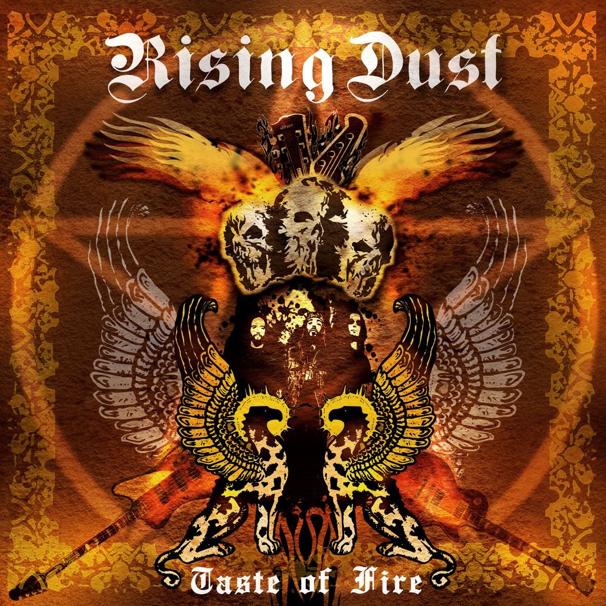 RISING DUST - TASTE OF FIRE MCD